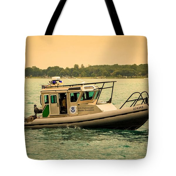 U.s. Customs Border Patrol Tote Bag