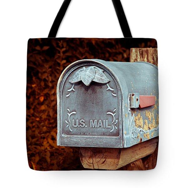 U.s. Mail Approved Tote Bag by Eti Reid