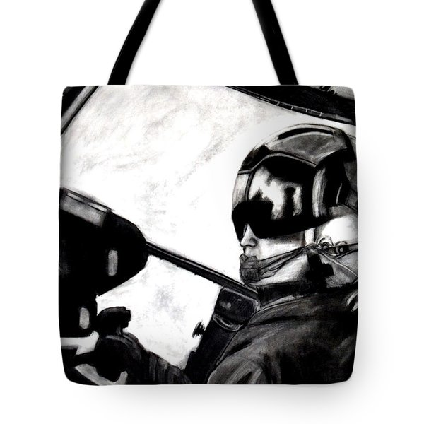 U.s. Marines Helicopter Pilot Tote Bag