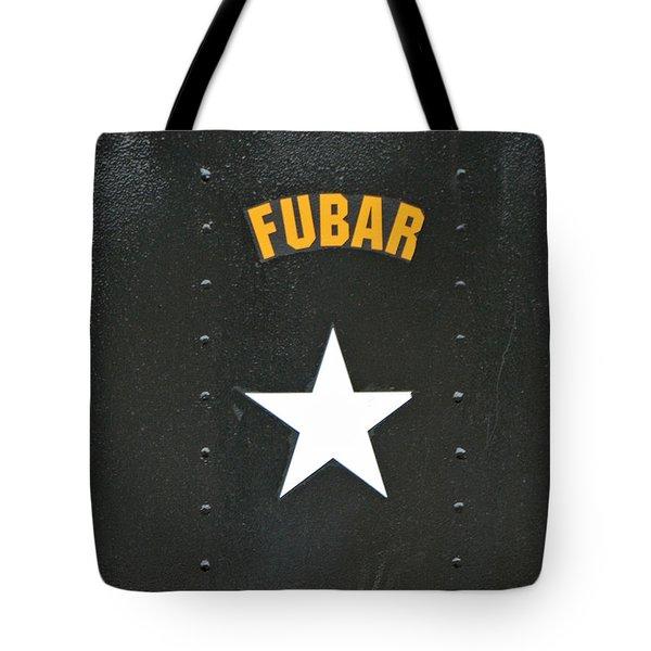 Us Military Fubar Tote Bag by Thomas Woolworth