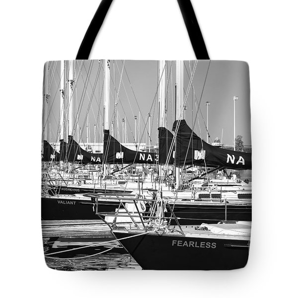 Us Navy 44 Sail Training Craft II Tote Bag