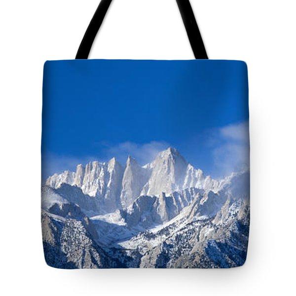Usa, California, Mount Whitney Tote Bag