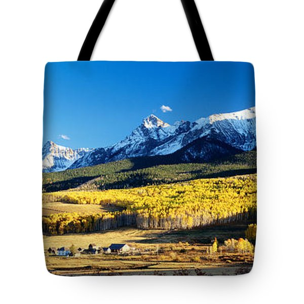 Usa, Colorado, Ridgeway, Last Dollar Tote Bag
