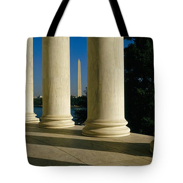 Usa, District Of Columbia, Jefferson Tote Bag by Panoramic Images