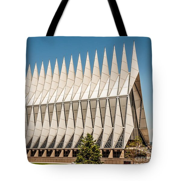 Air Force Academy Chapel Tote Bag