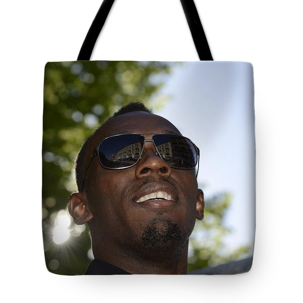 Usain Bolt - The Legend 1 Tote Bag