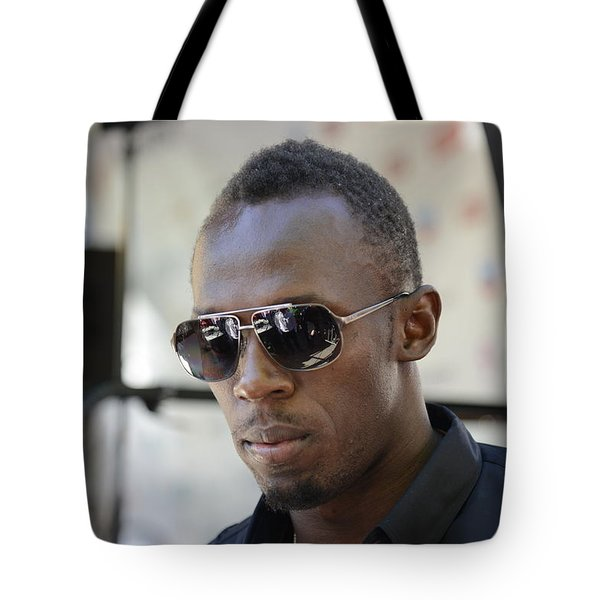Usain Bolt - The Legend 3 Tote Bag