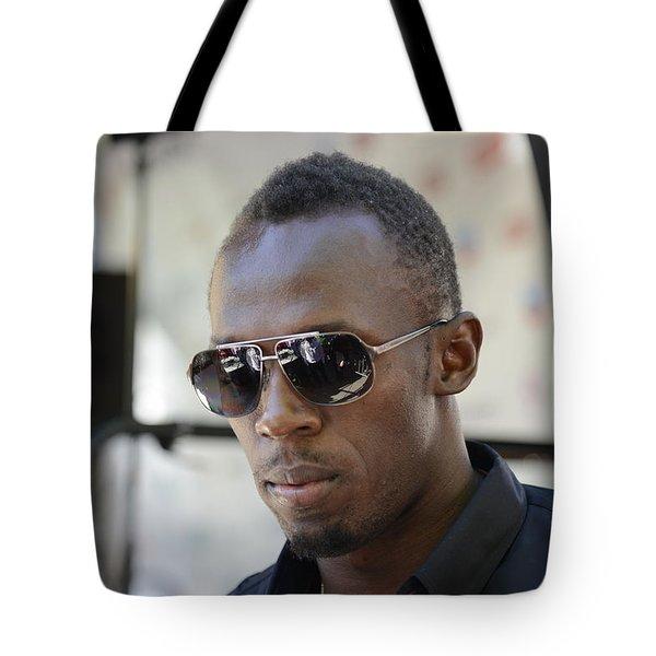 Usain Bolt - The Legend 3 Tote Bag