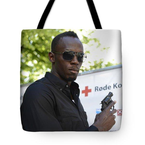 Usain Bolt - The Legend 4 Tote Bag
