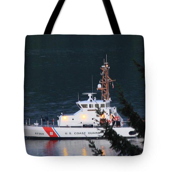 Uscgc Blue Shark Tote Bag