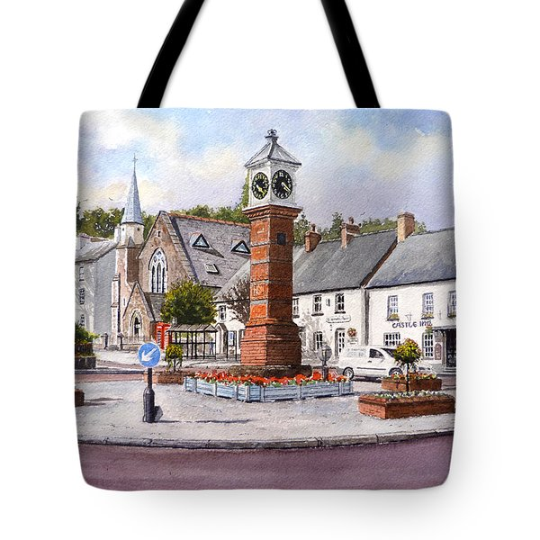 Usk In Bloom Tote Bag by Andrew Read