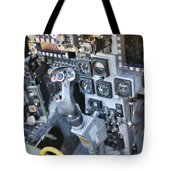 Usmc Av-8b Harrier Cockpit Tote Bag
