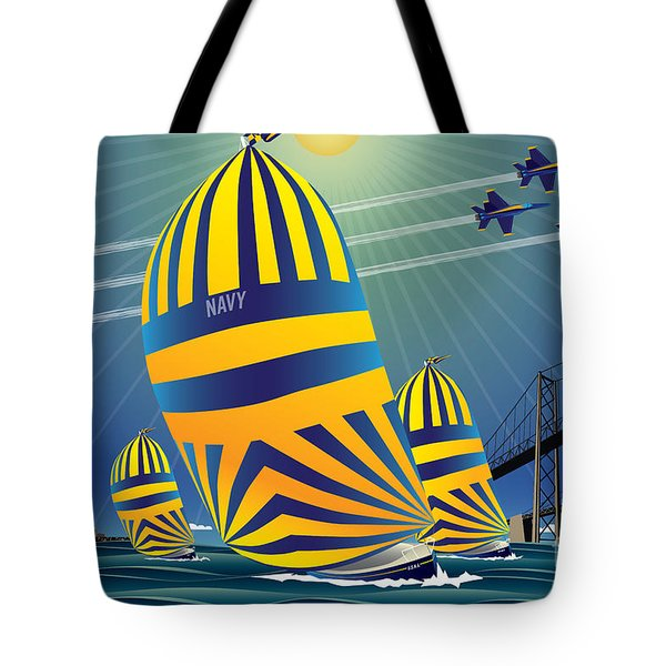 Usna High Noon Sail Tote Bag