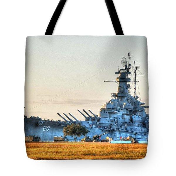 Uss Alabama Tote Bag by Michael Thomas