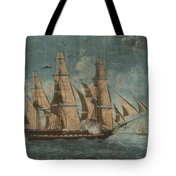 Uss Constitution 1803 Tote Bag