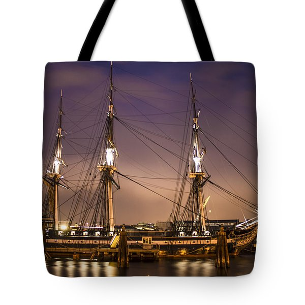 Uss Constitution Boston   Tote Bag