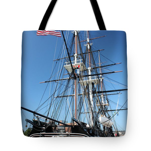Uss Constitution Tote Bag by Kristin Elmquist