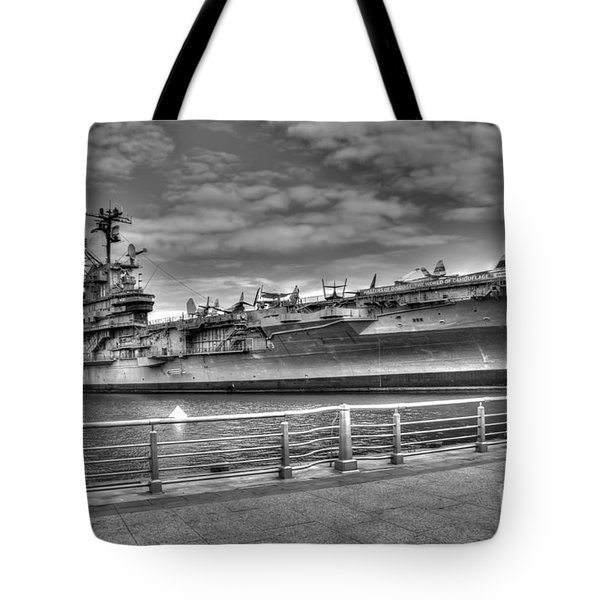 Uss Intrepid Tote Bag