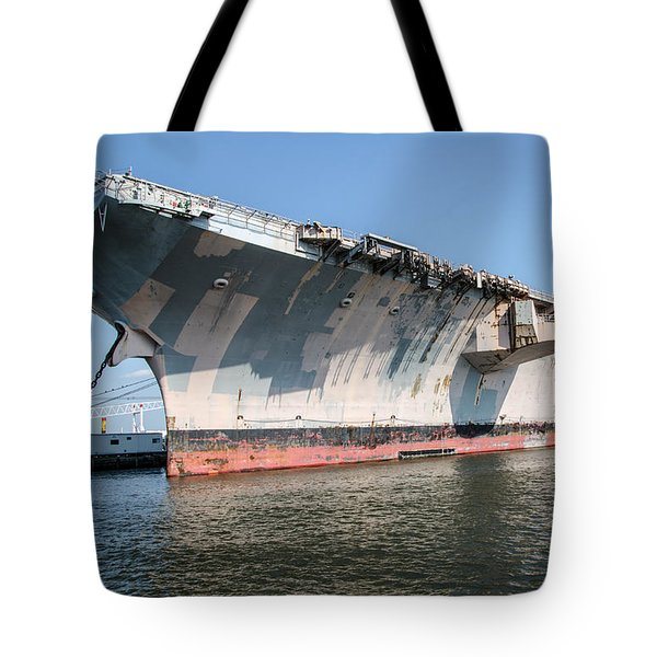Uss John F. Kennedy Tote Bag