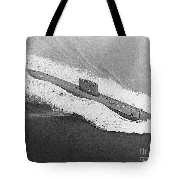 Uss Nautilus Worlds First Atomic Submarine Tote Bag
