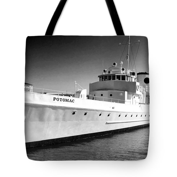 Uss Potomac Tote Bag
