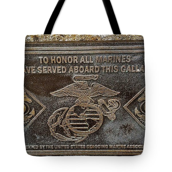 Tote Bag featuring the photograph U.s.s. San Francisco Memorial Land's End by Bill Owen