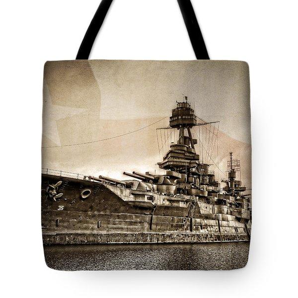 U.s.s. Texas Tote Bag