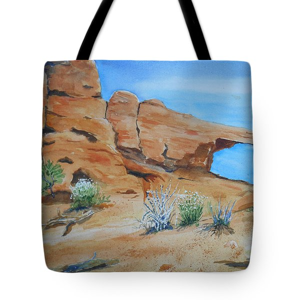Utah - Arches National Park Tote Bag