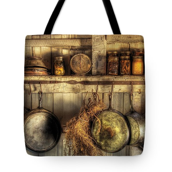 Utensils - Old Country Kitchen Tote Bag