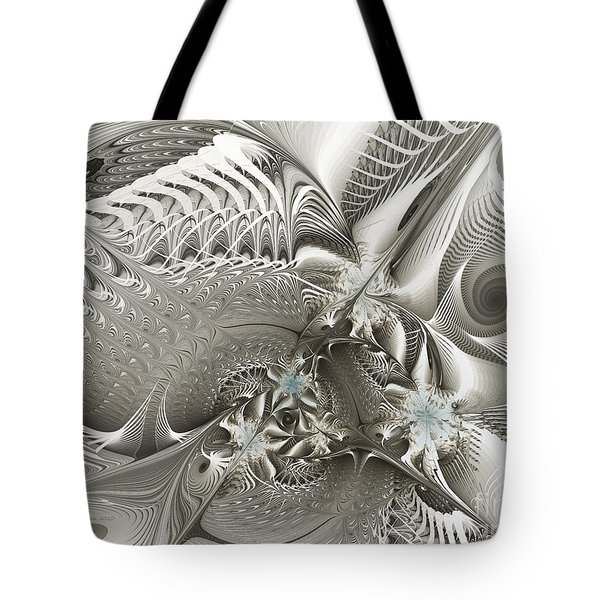 Utopia-fractal Art Tote Bag
