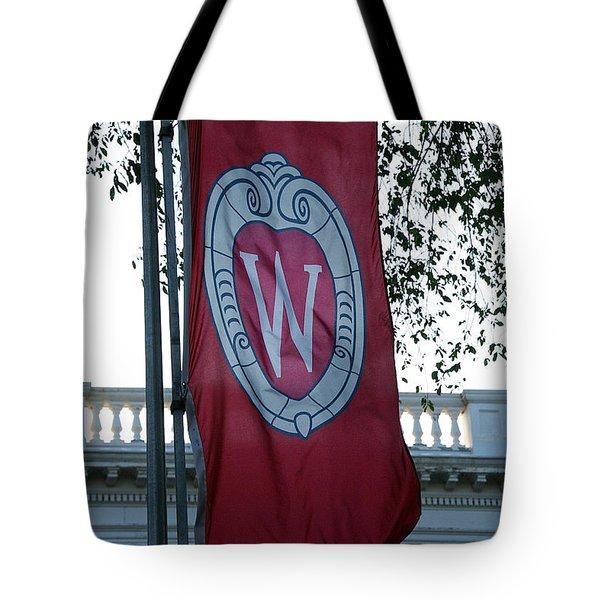 Uw Flag Tote Bag