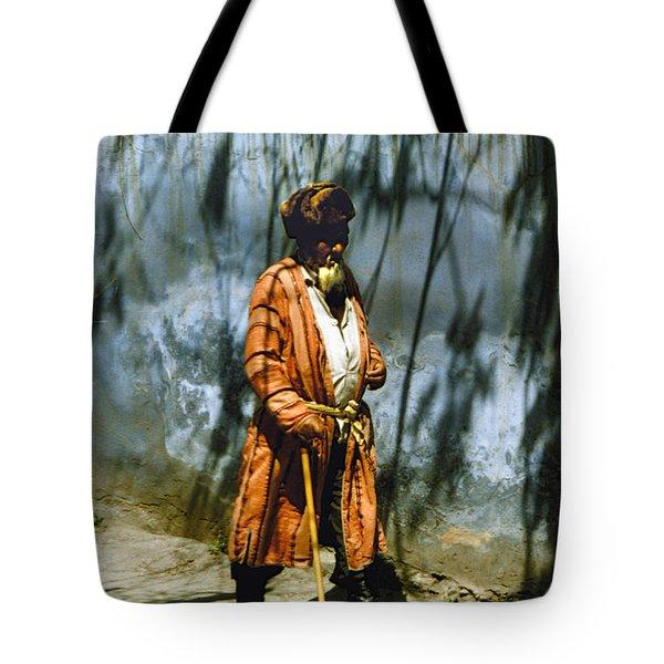 Uzbek  Tote Bag by Heiko Koehrer-Wagner