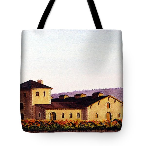V. Sattui Winery Tote Bag by Mike Robles