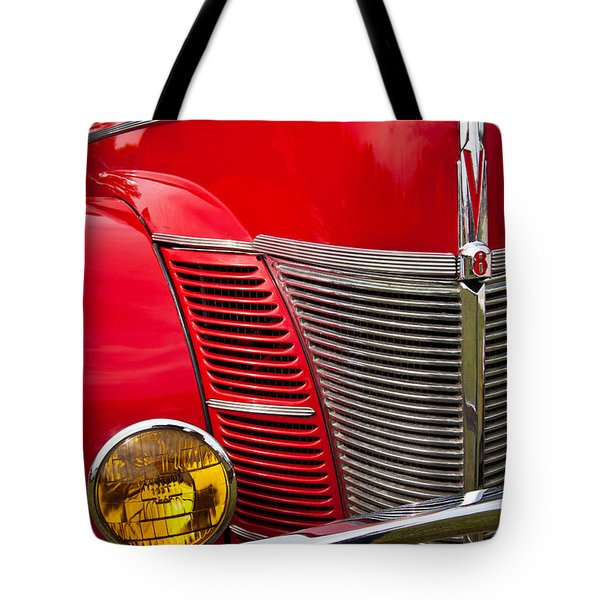 V8 - Another View Tote Bag by Mark Alder