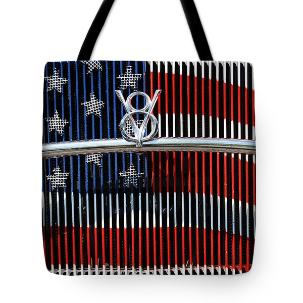 V8 Freedom Tote Bag by Jani Freimann