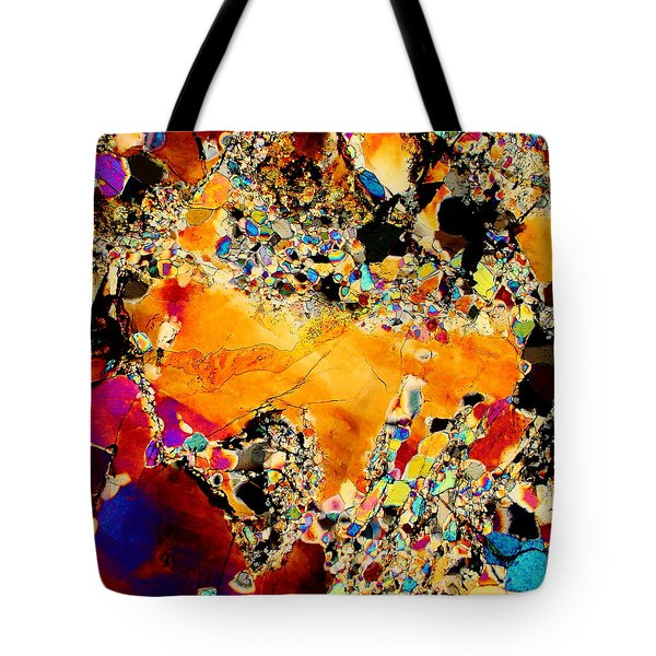 Goldon Nuggets From Space Tote Bag