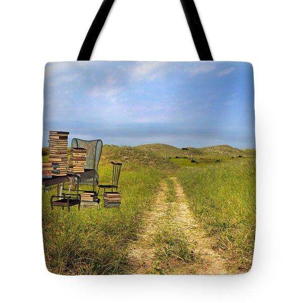 Vacancy  Tote Bag by Betsy Knapp