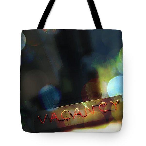 Vacancy Tote Bag by Margie Hurwich