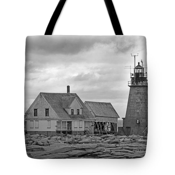 Vacant On The Ocean Tote Bag