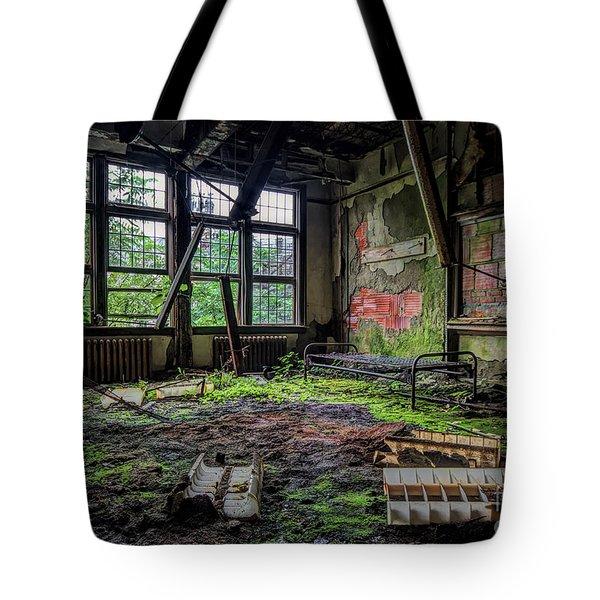 Vacant Tote Bag