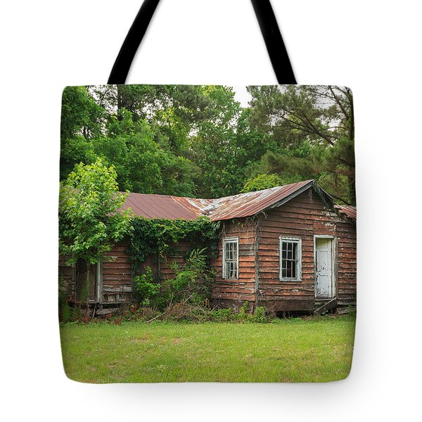 Vacant Rural Home Tote Bag