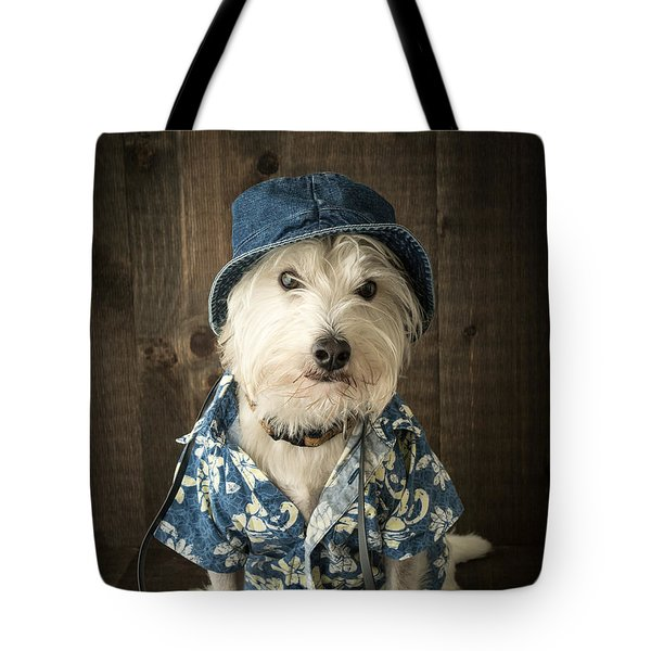 Vacation Dog Tote Bag