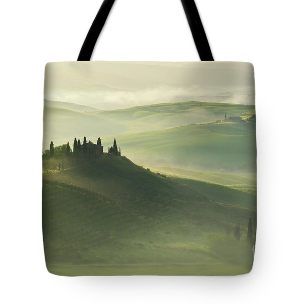 Tote Bag featuring the photograph Val D'orcia by Jaroslaw Blaminsky