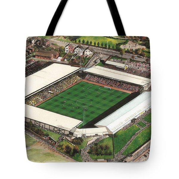 Vale Park - Port Vale Tote Bag by Kevin Fletcher