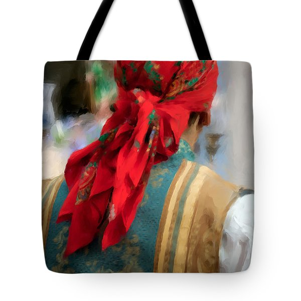 Tote Bag featuring the photograph Valencian Man In Traditional Dress. Spain by Juan Carlos Ferro Duque