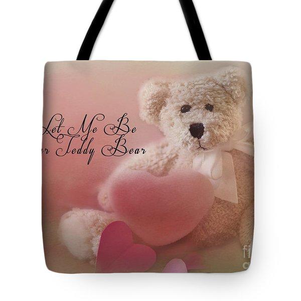 Valentine Bear 2 Tote Bag