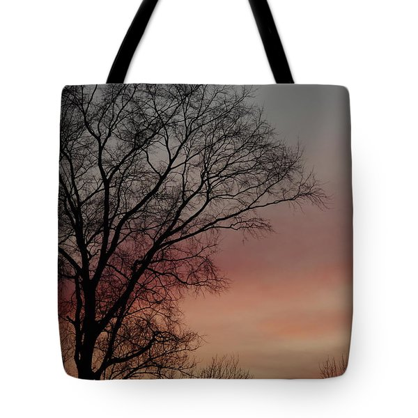 Valentine Day Sunset Tote Bag