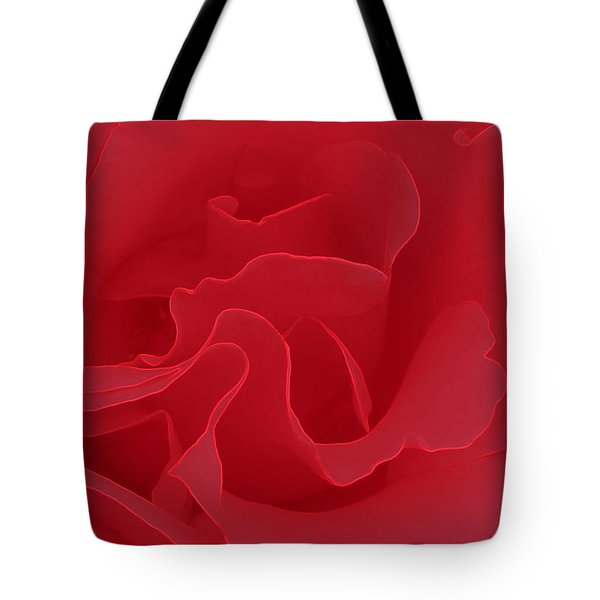 Tote Bag featuring the photograph Valentine Red by Janice Westerberg
