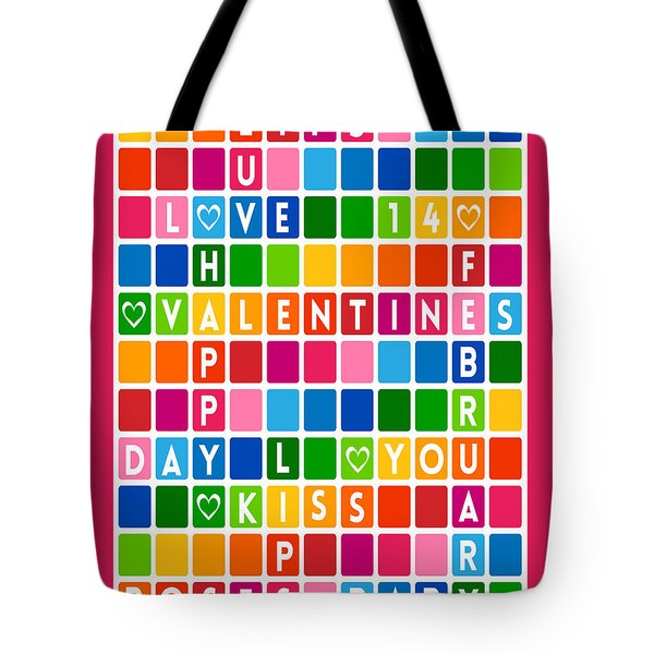 Valentines Crossword Puzzle-jp2456 Tote Bag