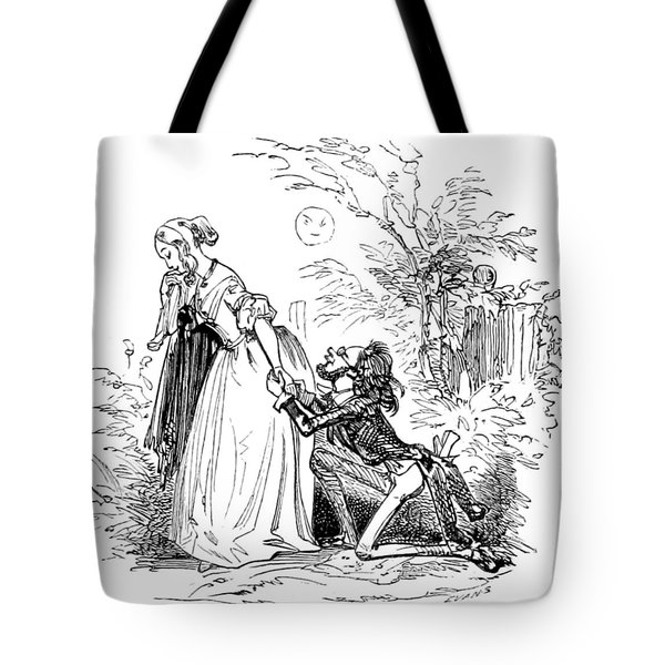 Valentines Day, 1855 Tote Bag